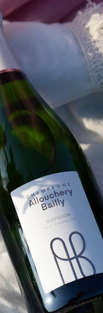 Bouteille de champagne Allouchery-Bailly